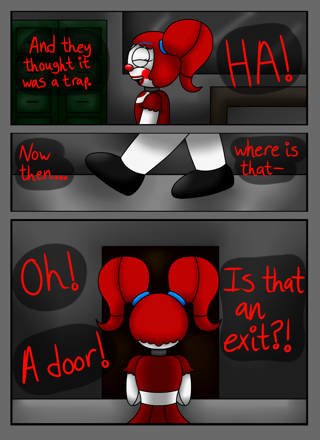 Fnaf sl comic a animatronic s demise pg 4 by superpinkygirl101 on