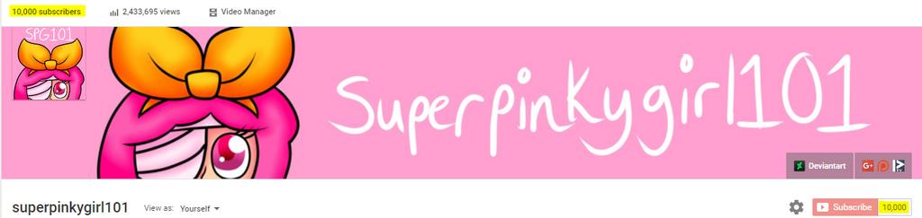 10ksubs by superpinkygirl101