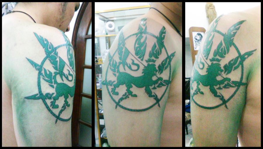 Sabavon Tattoos Lion Judah
