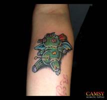 Little Ragdoll Tattoo by camsy