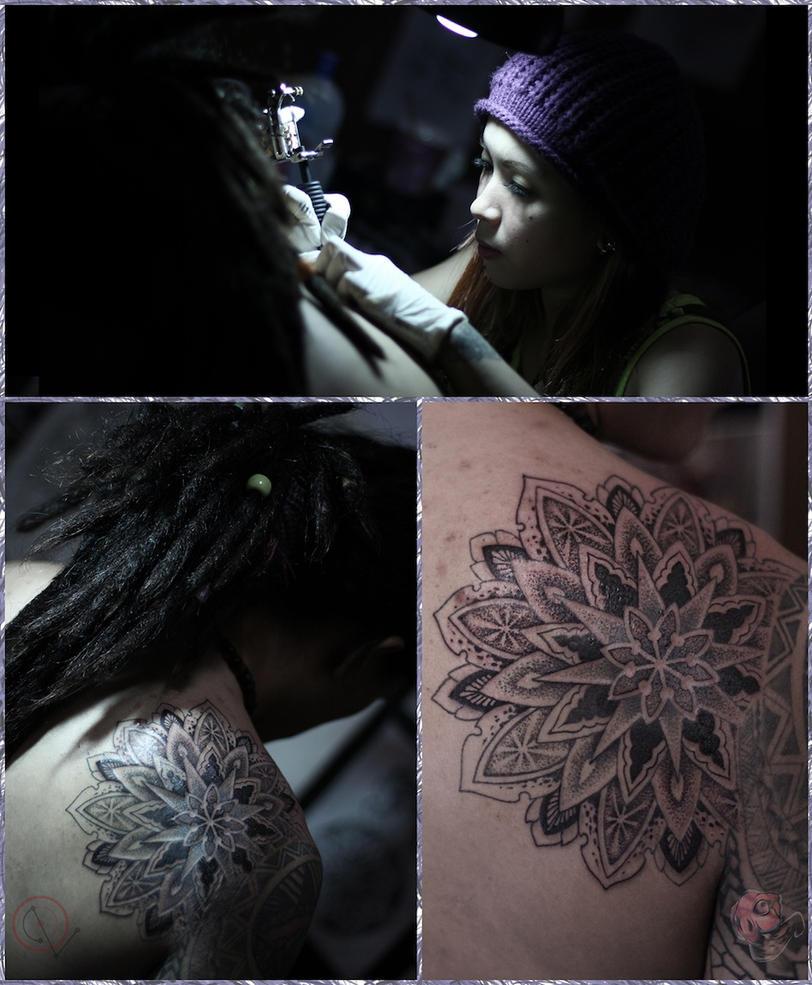 Mandala Tattoo by camsy
