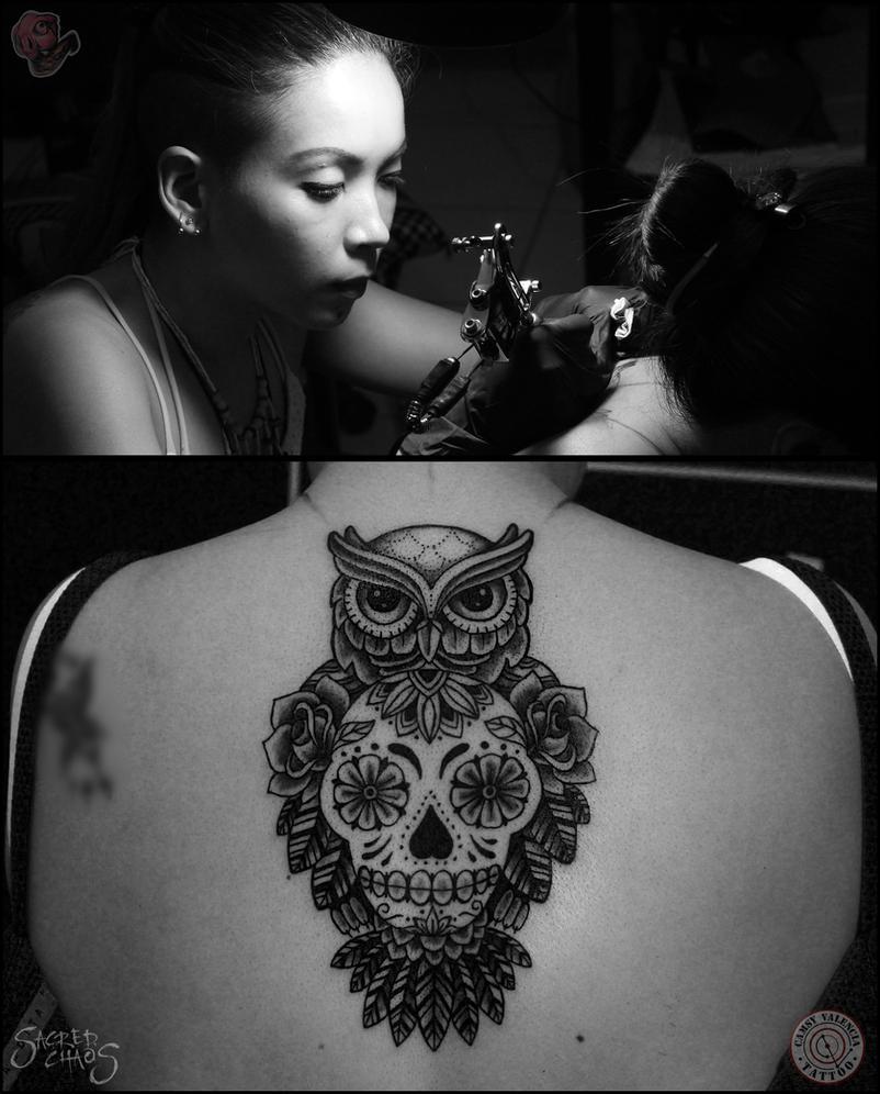 Owl Tattoo Camsy Valencia by camsy