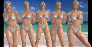 Nina Williams collage 2: Bikini