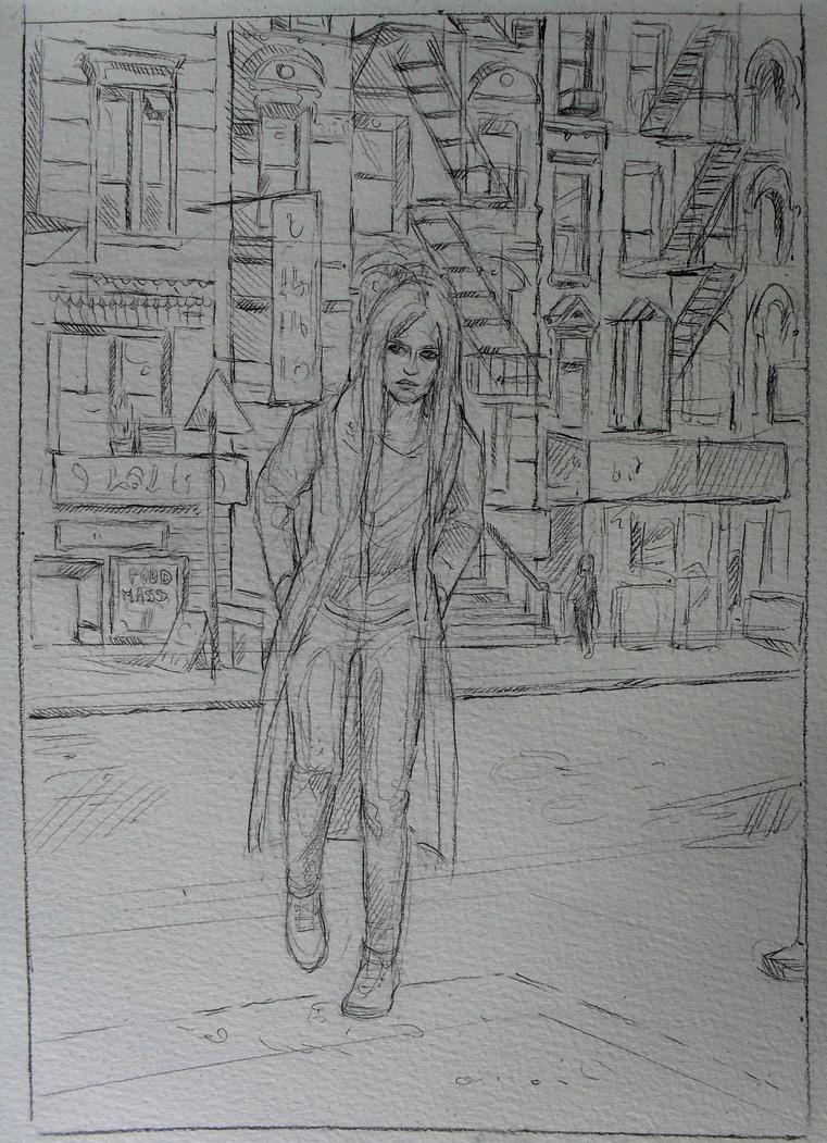 comic  sketch by pannka144