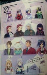 Hyperdimension  Neptunia Rebirth characters