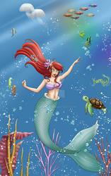 Ariel: The Little Mermaid by Karin001