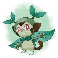 All 8 Grass Starter Pokemon Combined by leehzart