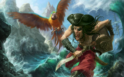 Pirate by jybe44