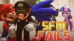 [SFM Fails] Mario Gets Extinguished (MoCap) by MarioT209