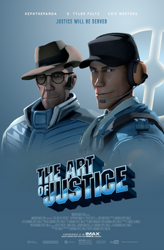 The Art of Justice - Theatrical Poster