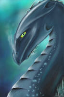 Water Dragon by DarkAngels777