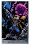 Rocket Racoon Colored
