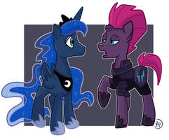 Redrawn Scene from MLP Knightmare Knights Comics by RedPalette