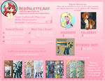 2020 Commission Pricing by RedPalette