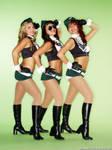 3 NY Jets Cheerleaders