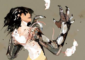 Snake Woman by raiu-alive
