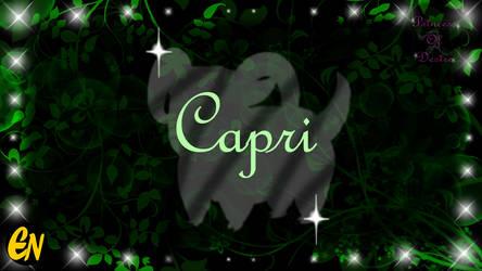 Princess of Desire Character: Capri by Princess-Of-Desire