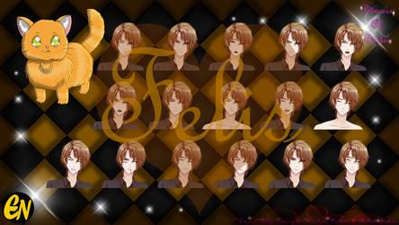 Princess Of Desire Sprites: Felis by Princess-Of-Desire
