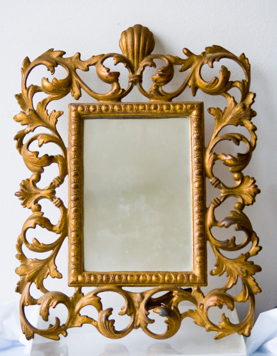 brass frame by muffet1 brass frame by muffet1