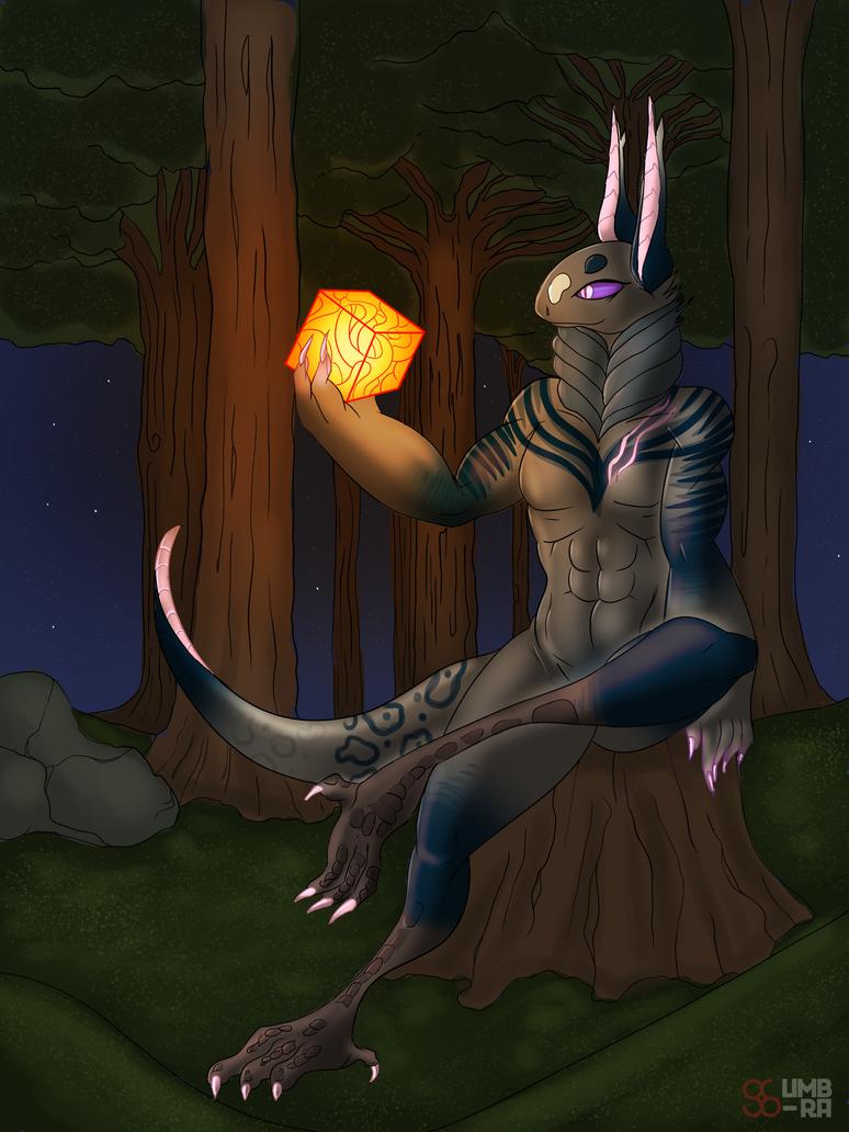 Contemplation (Commission for mortoboe) by ArborealUmbra