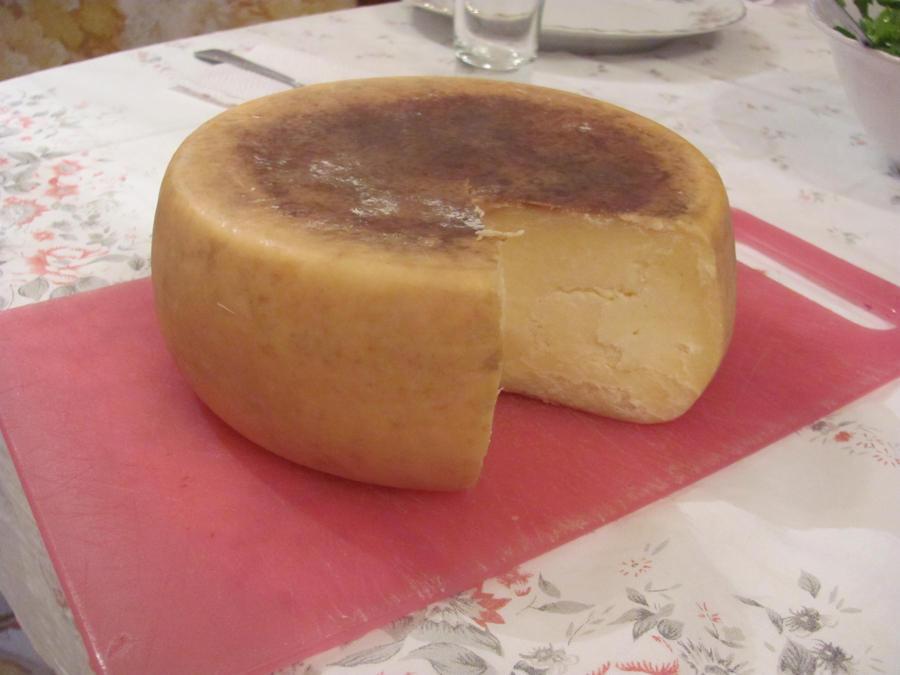 Wheel of Homemade Cheese by DragonoftheEastblue