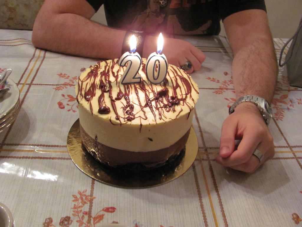 Happy 20th Birthday Cake Images My 20th Birthday Cake By Honey