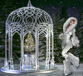 Snow Bunny by Michka2