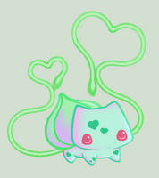 Bulbasaur loves you by crystalklear2u