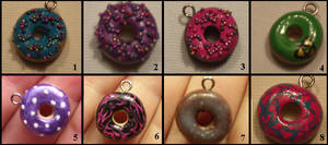 Donut Charms 1 by NCPanthersgurl