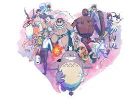 A heart's a heavy burden by SeiKyo-Art