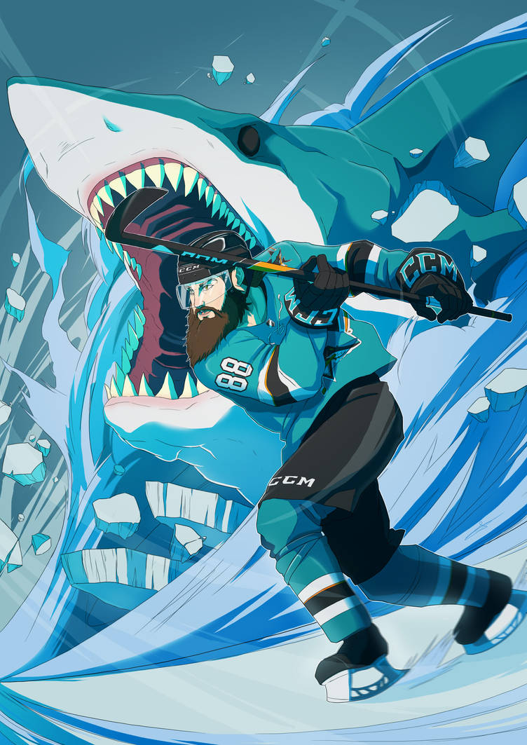 San Jose Sharks by SeiKyo-Art