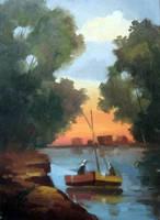River Side by K-A-S-S-A-B