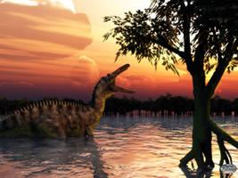 Suchomimus by deskridge