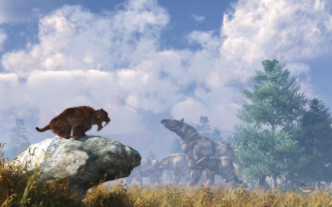 The Paraceratherium Migration
