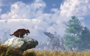 The Paraceratherium Migration by deskridge