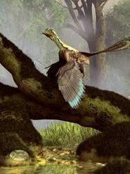 The Last Dinosaur by deskridge