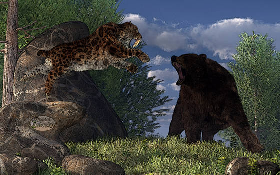 Grizzly vs. Saber-Tooth