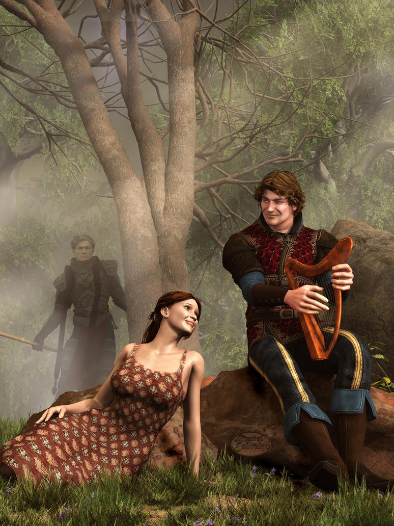 The Last Song of Tristan by deskridge