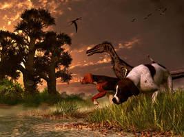 Hunting in the Age Gene Splicing by deskridge