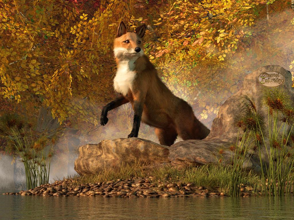 Vixen by the River by deskridge