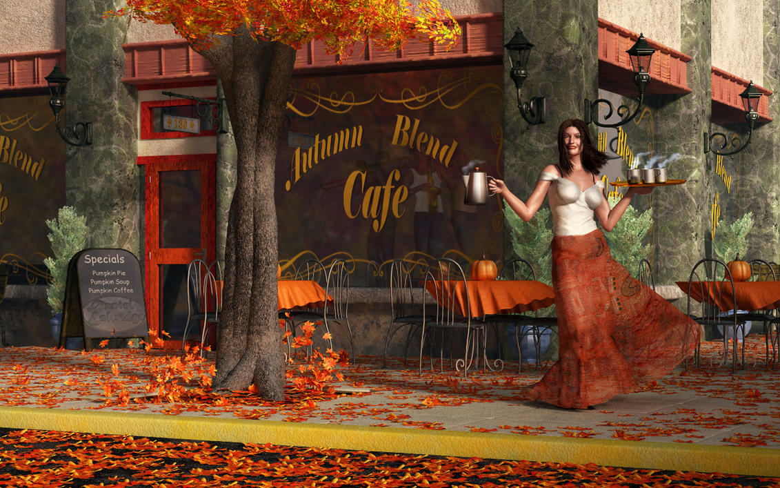 Welcome to the Autumn Blend Cafe by deskridge