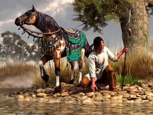 A Hunter and His Horse