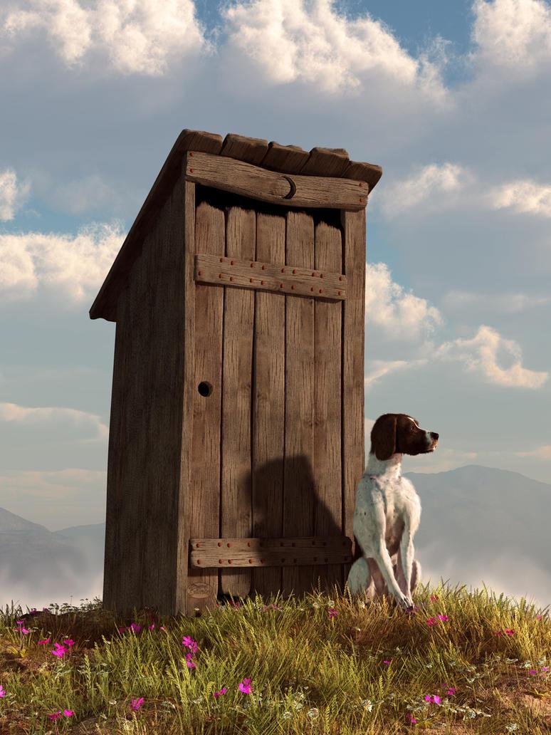 Outhouse Guardian By Deskridge On Deviantart