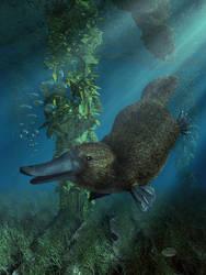 Happy Platypus by deskridge