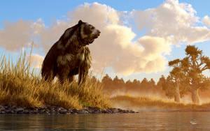 Short Faced Bear by deskridge