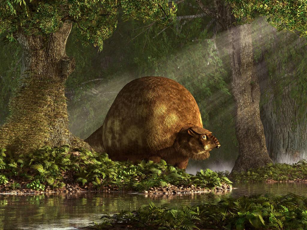 Glyptodon by deskridge