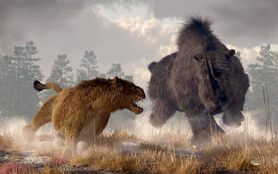 Clash of The Ice Age Beasts