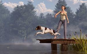 Dock Dog by deskridge