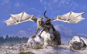 White Dragon by deskridge