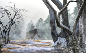 Mammoth In the Distance by deskridge